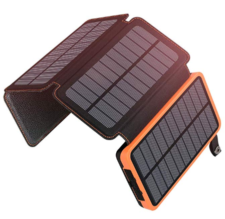 Best Solar Power Banks ADDTOP Portable Solar Power Bank