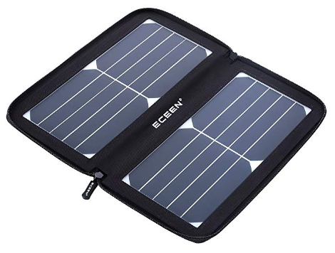Best Solar Powered Battery Chargers ECEEN Solar Charger 10W Waterproof