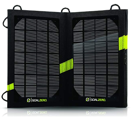 Best Solar Powered Battery Chargers Goal Zero Nomad 7 Solar Panel