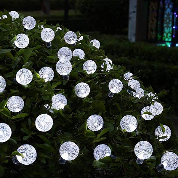 Best Solar Powered Christmas Lights Icicle Solar String Lights