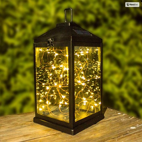 Solar powered christmas lights Solar Lanterns Outdoor Hanging